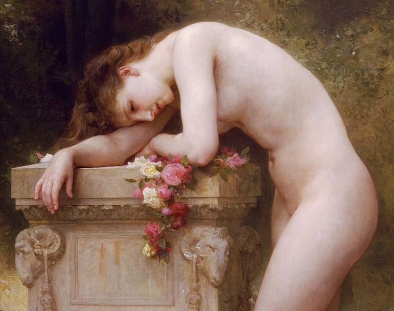 William-Adolphe_Bouguereau_-_Douleur_d'amour