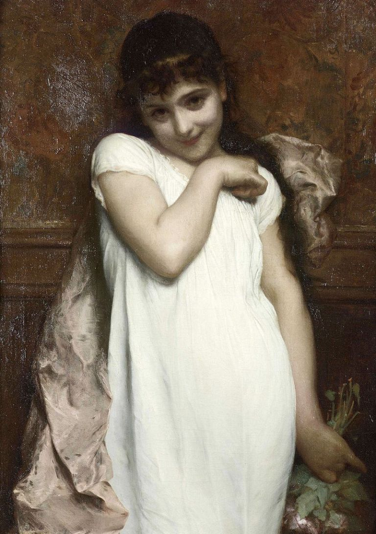 Étienne_Adolphe_Piot_-_Portrait_Of_A_Young_Lady
