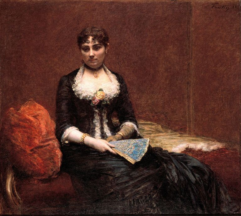 800px-Henri_Fantin-Latour_-_Portrait_of_Madame_Léon_Maître_(Portrait_de_Madame_Léon_Maître)_-_Google_Art_Project