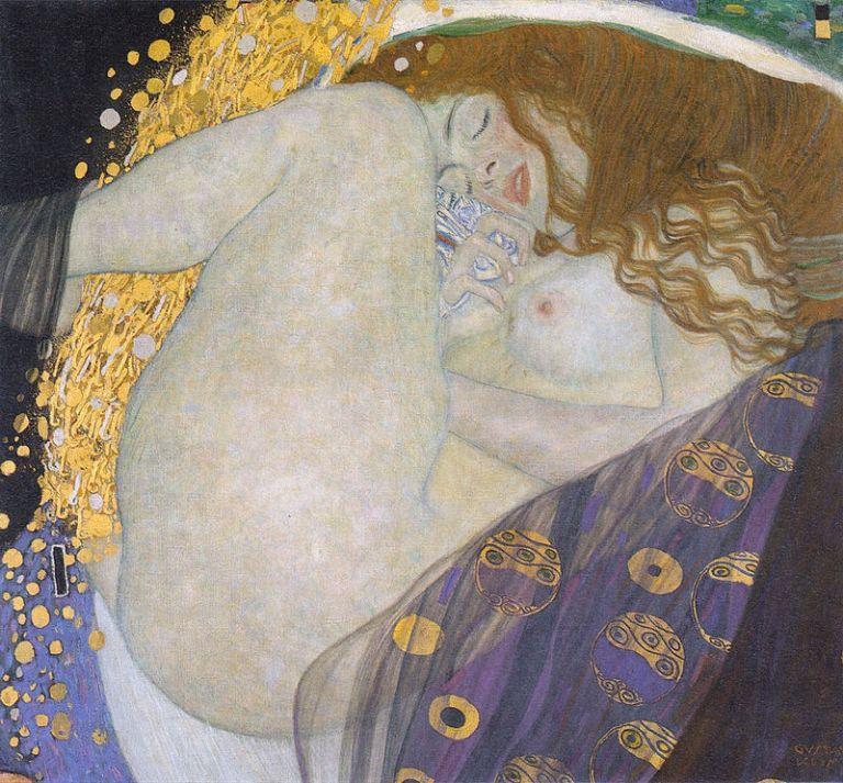 800px-Klimt_-_Danae_-_1907-08