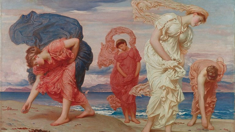 1024px-Frederic-Lord-Leighton-Greek-girls-picking-up-pebbles-by-the-sea-1871