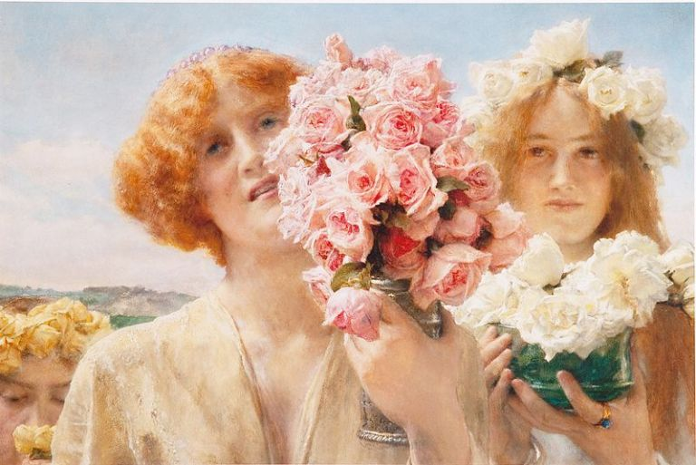 'Summer_Offering'_by_Sir_Lawrence_Alma-Tadema,_1911