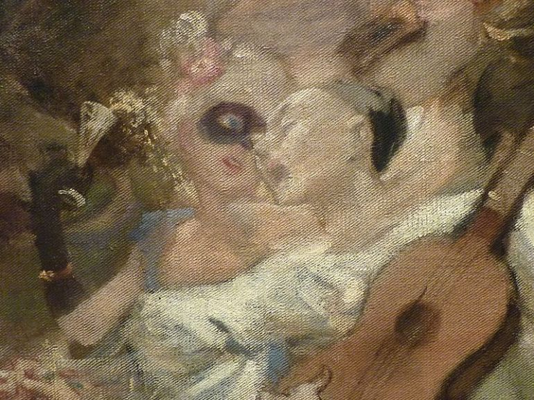 WILLETTE_Adolphe,1884_-_Parce_Domine_-_Detail_038