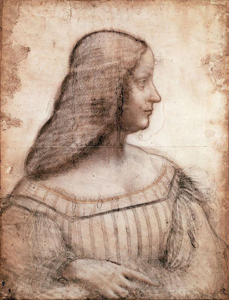800px-Leonardo_da_Vinci,_Portrait_of_Isabella_d'Este