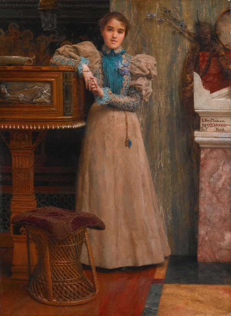 Clothilde_Edith_Ford,_daughter_of_Edward_Onslow_Ford,_by_Lawrence_Alma-Tadema