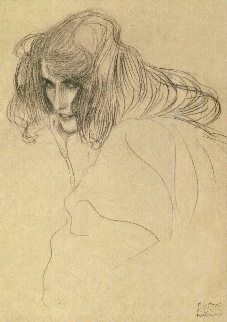 Klimt,_Study_for_Beethovenfries