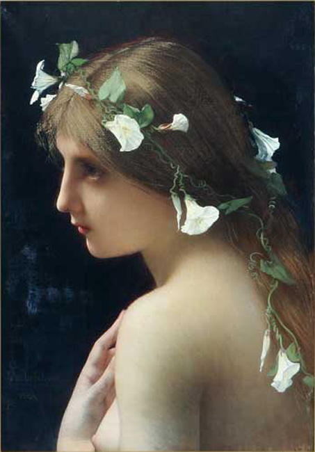 Nymph_with_morning_glory_flowers