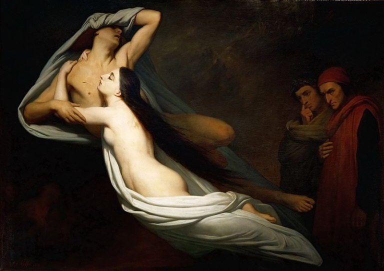 800px-1855_Ary_Scheffer_-_The_Ghosts_of_Paolo_and_Francesca_Appear_to_Dante_and_Virgil