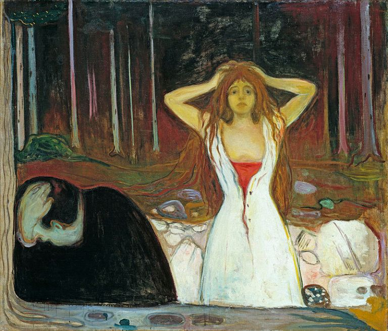 800px-Edvard_Munch_-_Ashes_(1895)