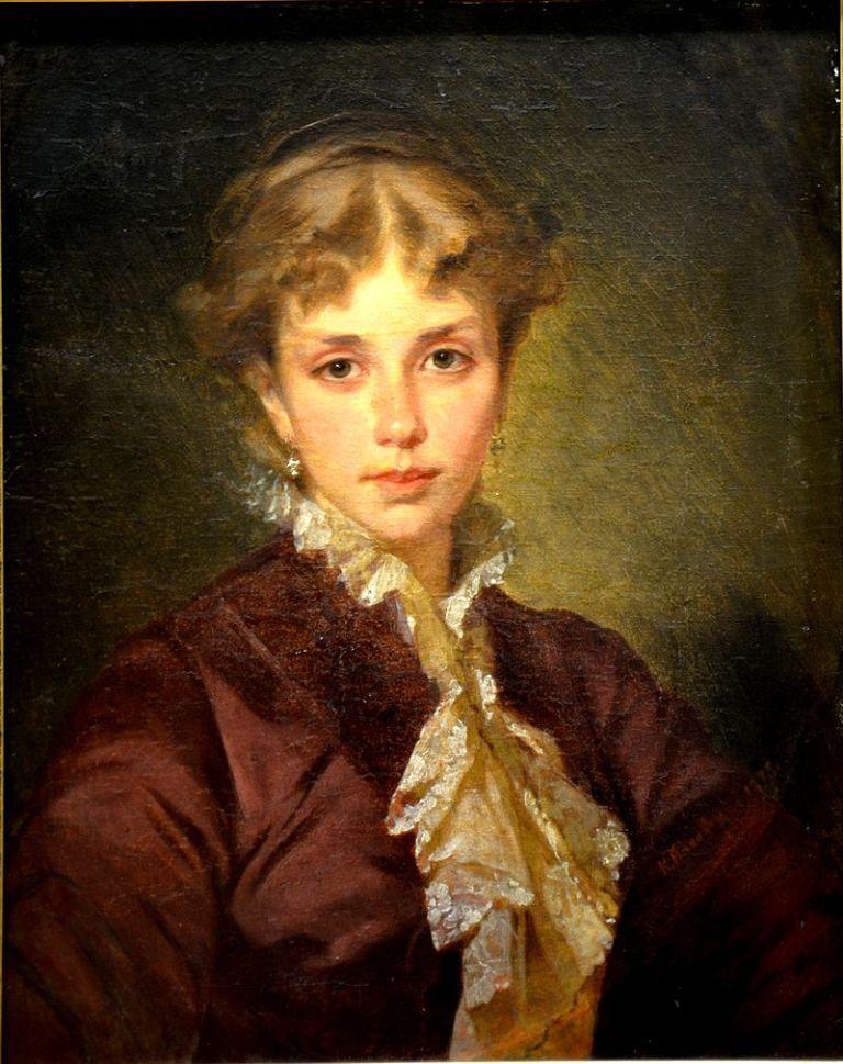 Konstantin_Makovsky_Portrait_of_Lady_1870s