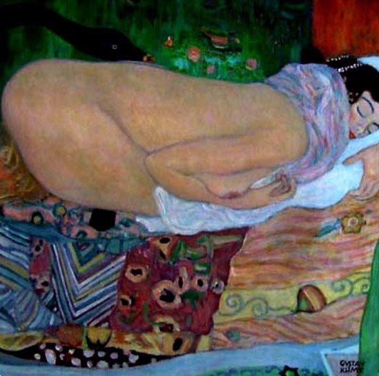 Leda_Klimt_(1917)