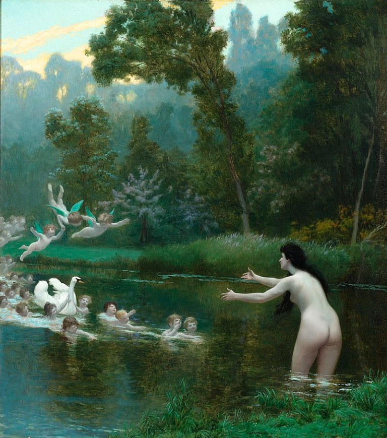800px-Leda_and_the_Swan_by_Jean-Leon_Gerome