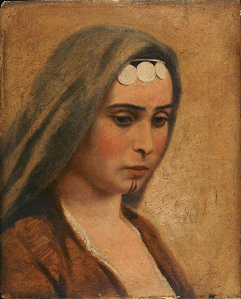 800px-Miner_Kilbourne_Kellogg_-_Head_of_an_Arab_Girl_-_1992.66.2_-_Smithsonian_American_Art_Museum
