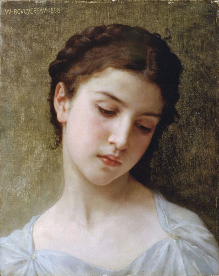 800px-William-Adolphe_Bouguereau_(1825-1905)_-_Head_Of_A_Young_Girl_(1898)
