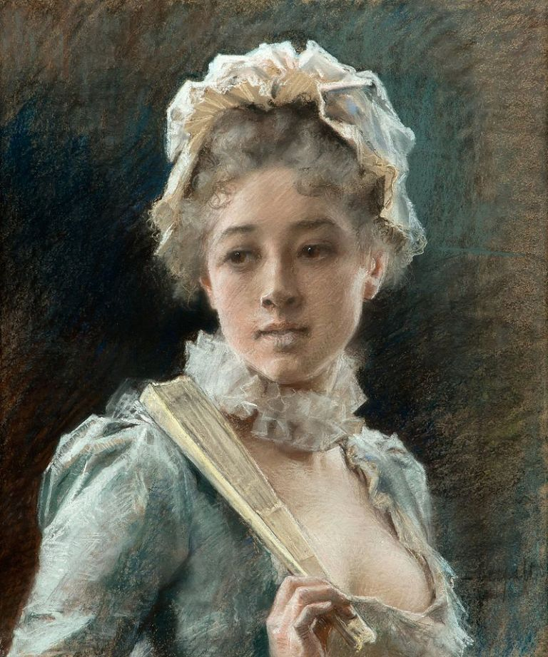 Albert_Edelfelt_-_Young_Woman_with_a_Fan
