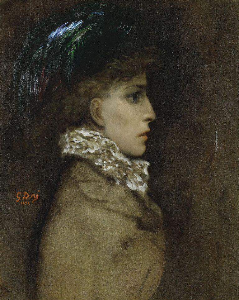 Gustave_Doré_-_Sarah_Bernhardt,_1870