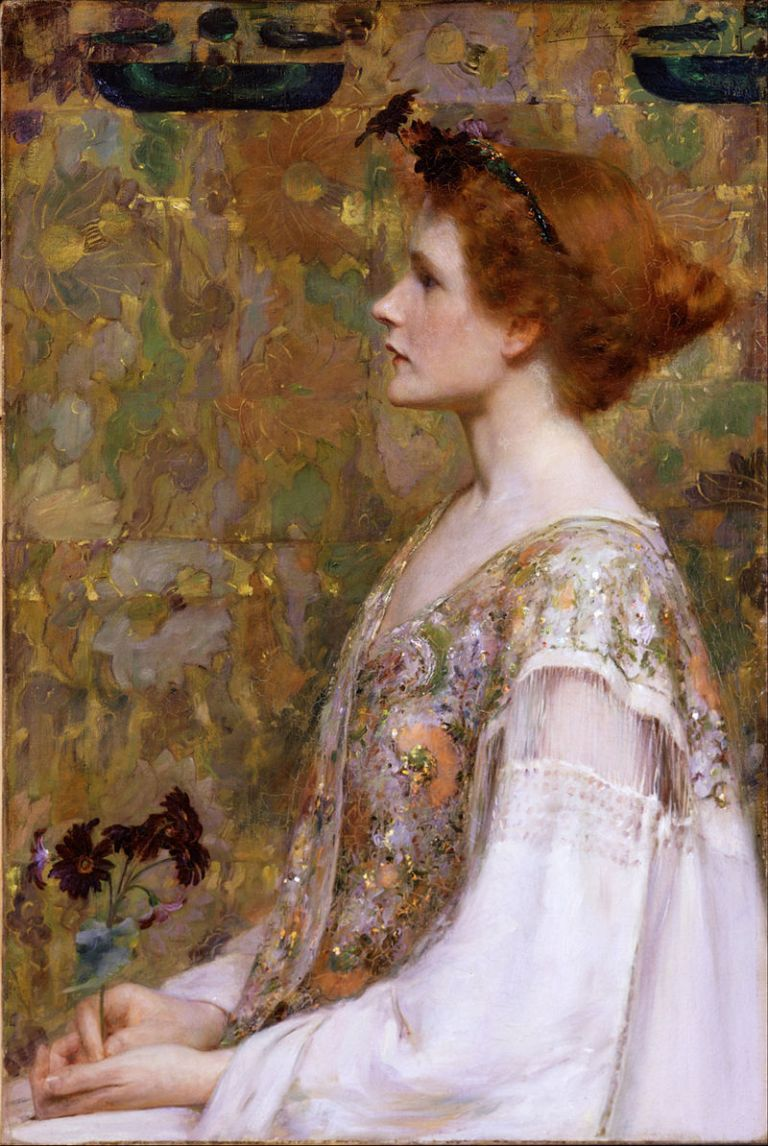 800px-Albert_Herter_-_Woman_with_Red_Hair_-_Google_Art_Project