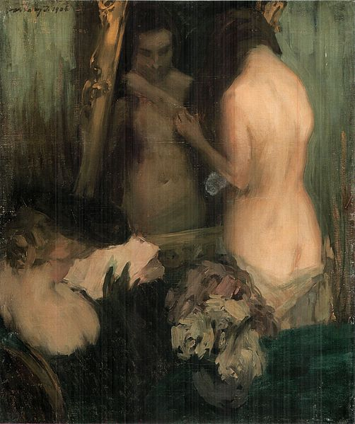 502px-vaszary_woman_in_front_of_the_mirror_1904