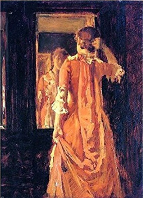 william_merritt_chase,_young_woman_before_a_mirror