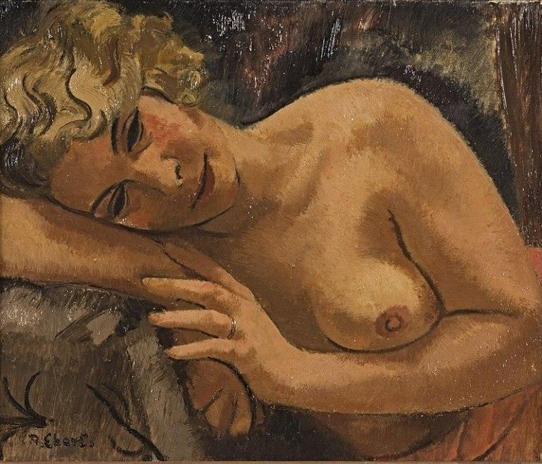 800px-Anton_Ebert_-_Weiblicher_Halbakt_-_BG-M-SG_5698^92_-_Berlinische_Galerie
