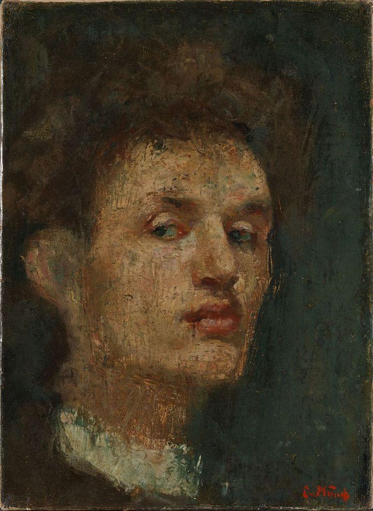 800px-Edvard_Munch_-_Self-portrait_(1886)