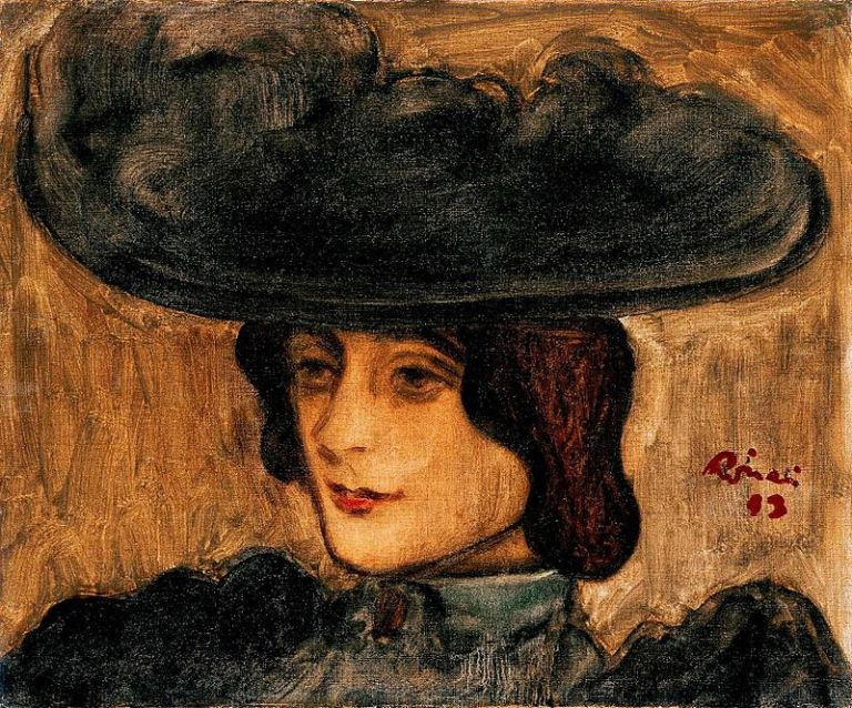800px-Rippl_Parisian_Woman_in_a_Hat