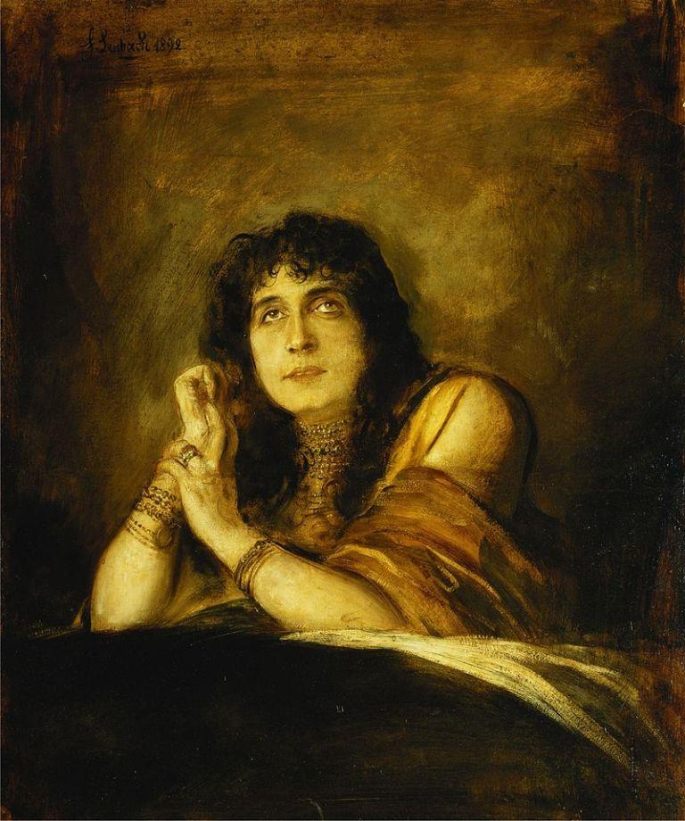 Franz_von_Lenbach_-_Portrait_of_Sarah_Bernhardt,_as_Lady_Macbeth_(1892)
