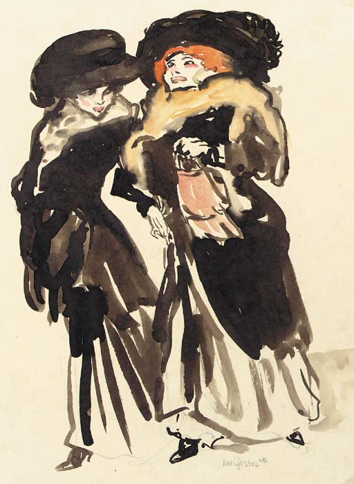 Leo_Gestel_Two_elegant_ladies_1908
