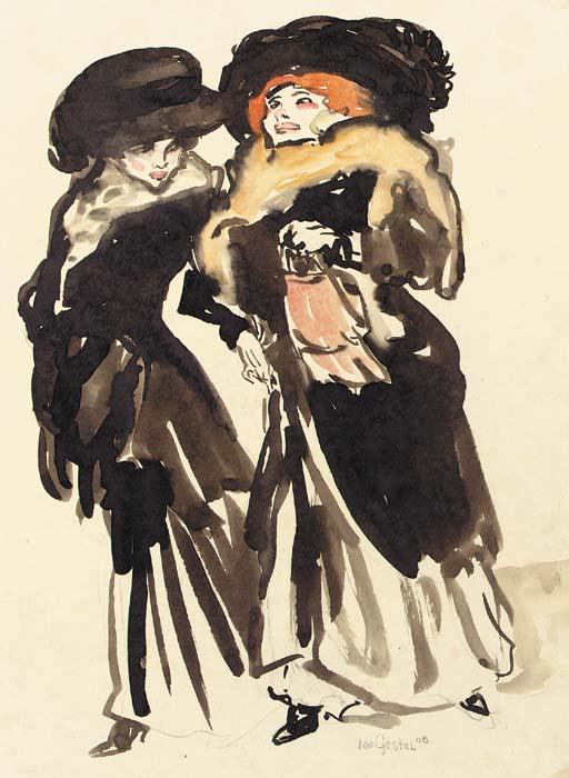 Leo_Gestel_Two_elegant_ladies_1908