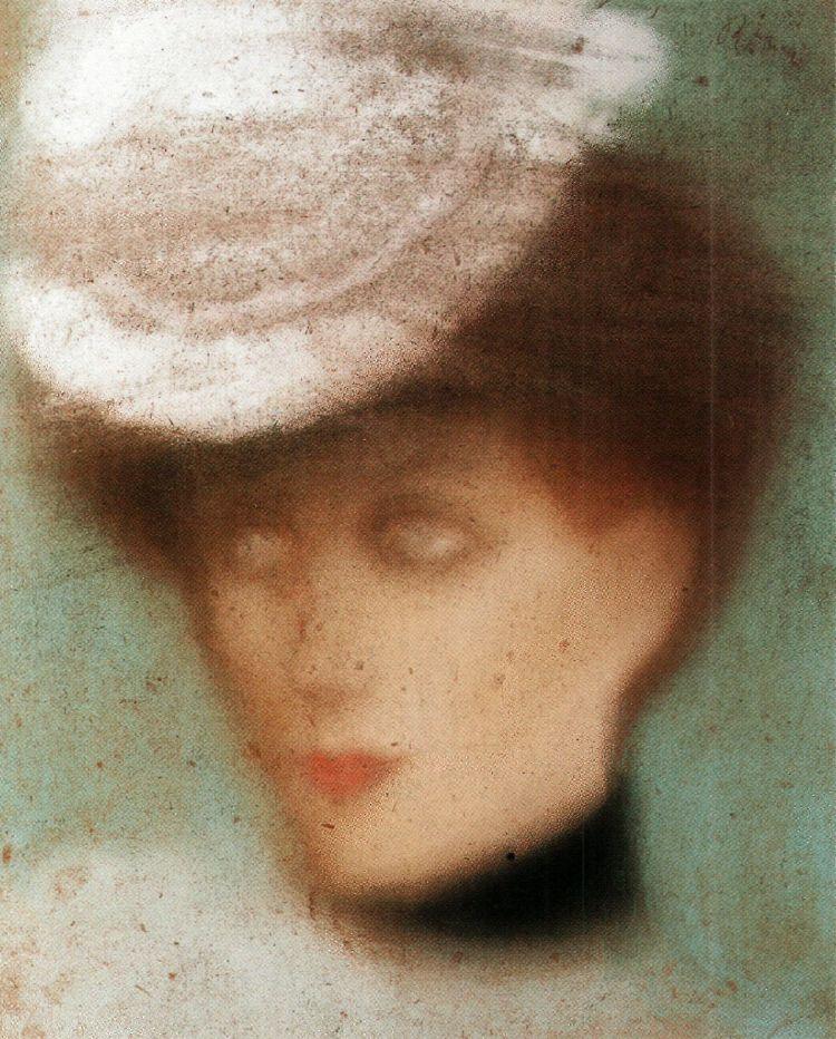 Rippl_Woman_Wearing_White_Hat_c._1901