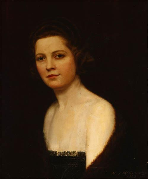 William_J._McCloskey_-_Portrait_of_a_woman_in_a_black_lace_dress_and_fur