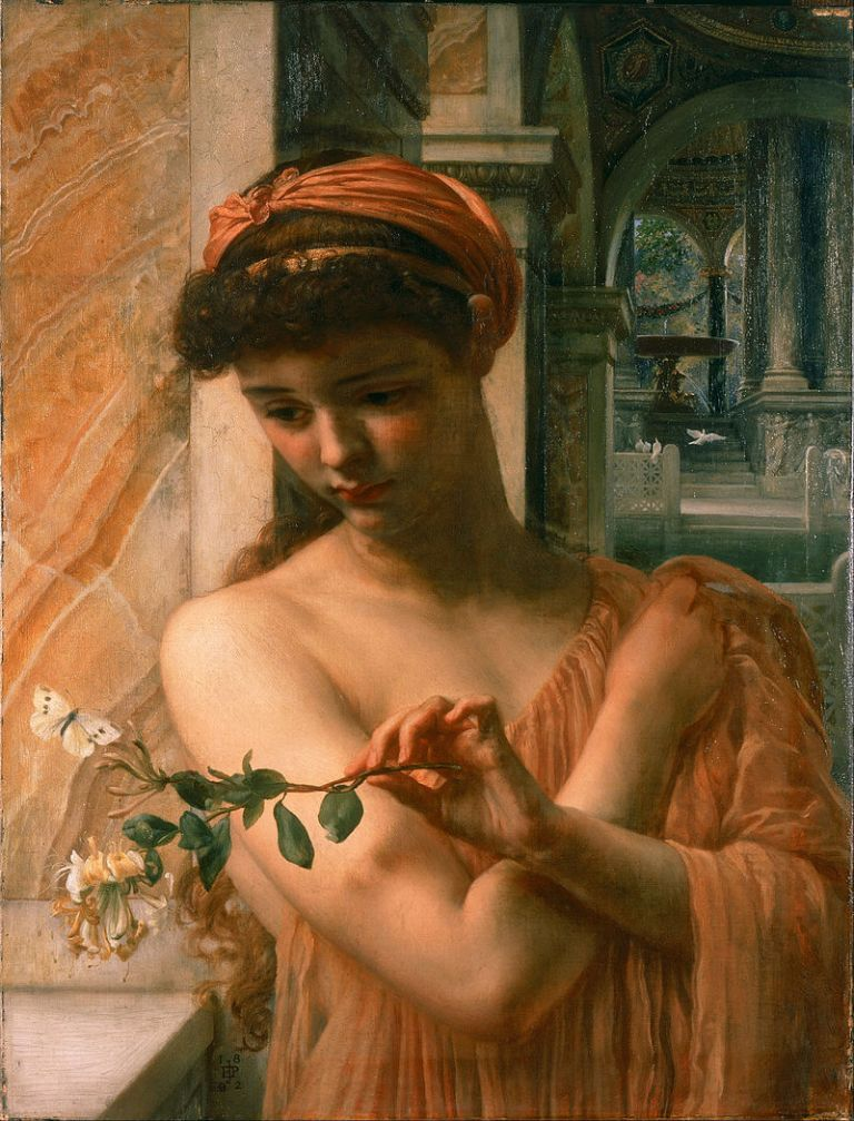 Edward_John_Poynter_-_Psyche_in_the_Temple_of_Love_-_Google_Art_Project