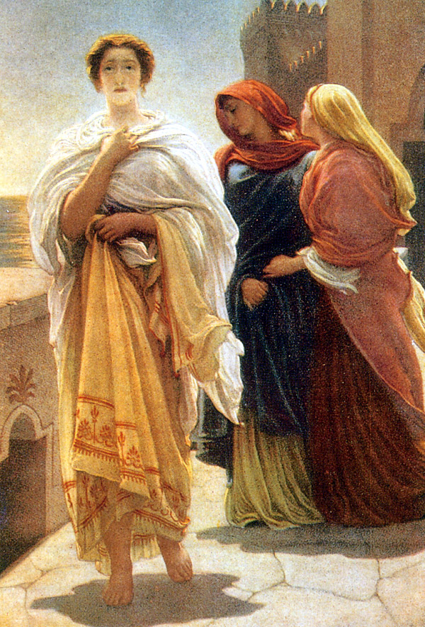 Frederic_Leighton_-_Helen_On_The_Walls_Of_Troy 3