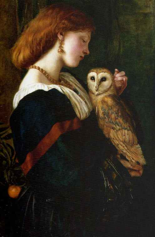 Il_Barbagianni_The_Owl_by_Valentine_Cameron_Prinsep