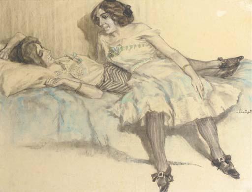 Leo_Gestel_The_gossip_c1905-1906