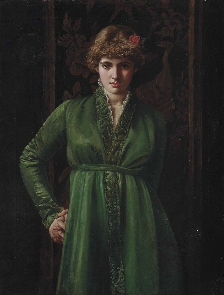 Valentine_Cameron_Prinsep_-_The_green_dress