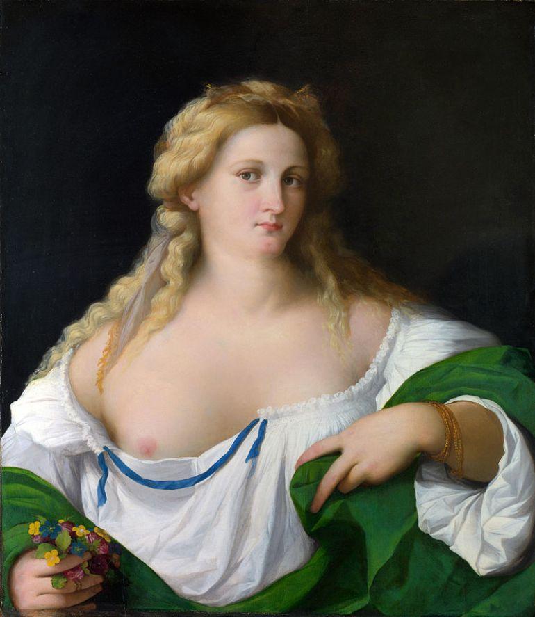 Palma_il_Vecchio_-_A_Blonde_Woman