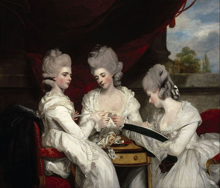 800px-Sir_Joshua_Reynolds_-_The_Ladies_Waldegrave_-_Google_Art_Project