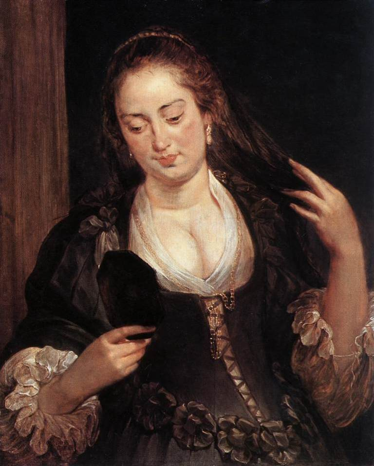 Peter_Paul_Rubens_-_Woman_with_a_Mirror_-_WGA20336