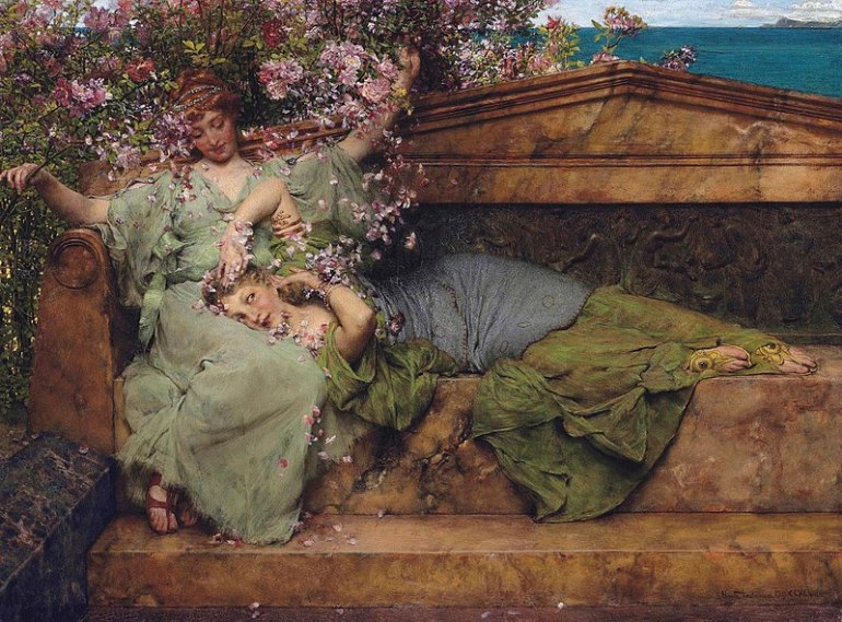 800px-In_a_rose_garden,_by_Lawrence_Alma_Tadema
