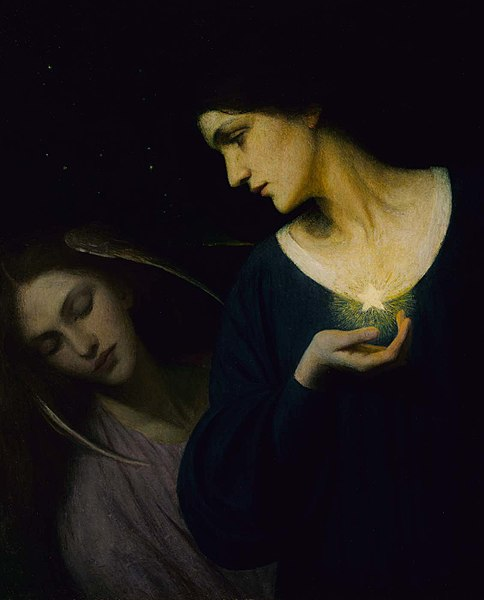 484px-Mary_L._Macomber_-_Night_and_Her_Daughter_Sleep_-_1988.7_-_Smithsonian_American_Art_Museum