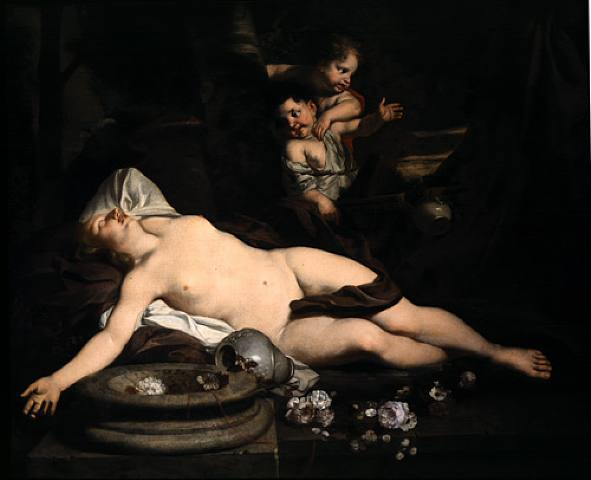 16xx_Gérard_de_Lairesse_-_Sleeping_Bacchante