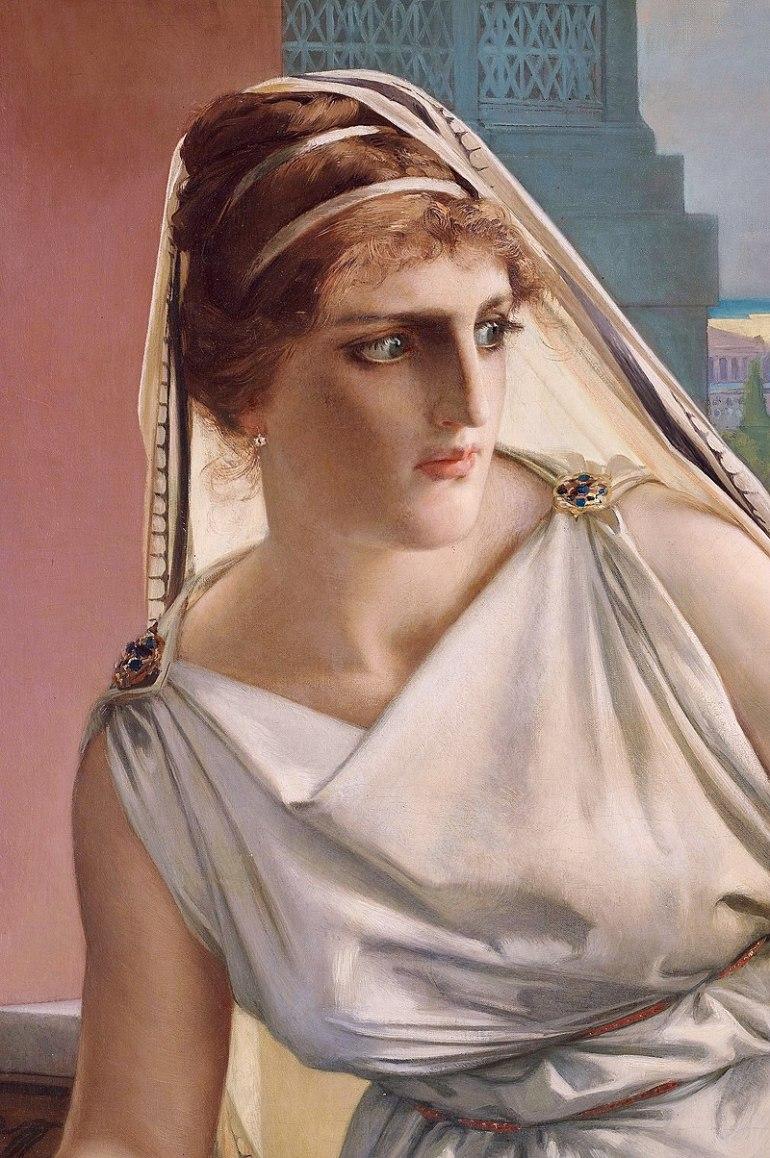 800px-Hypatia_by_Julius_Kronberg,_1889,_detail