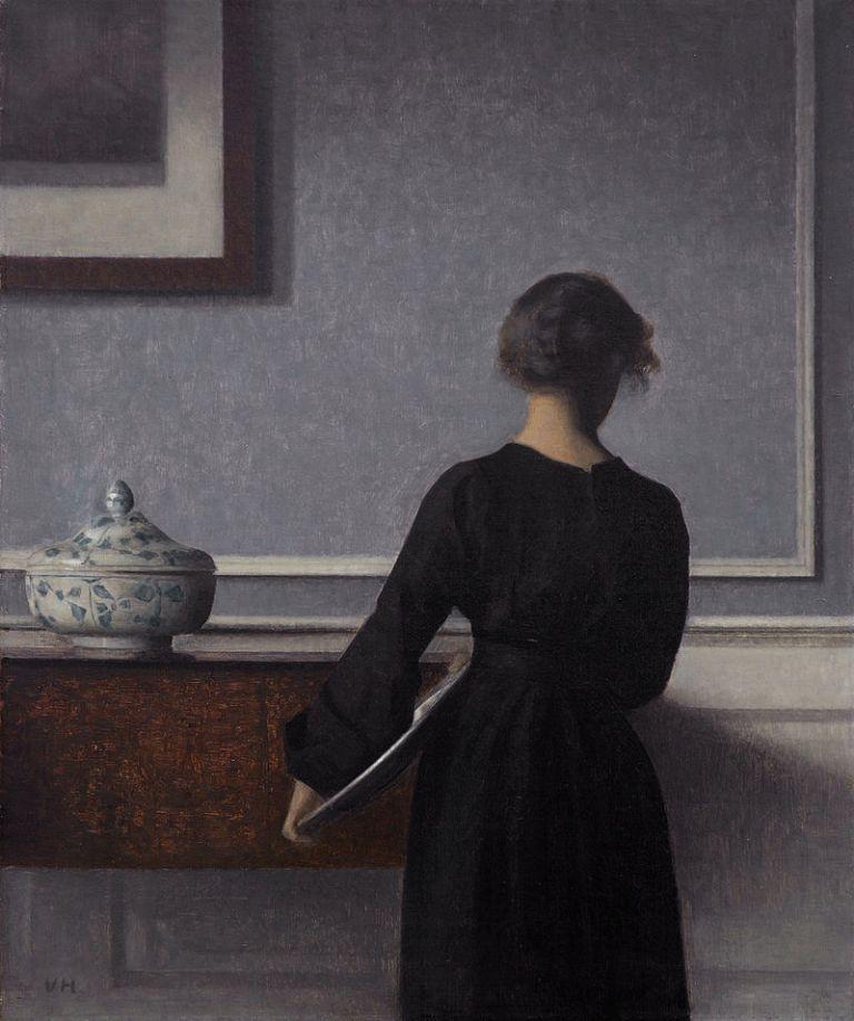 800px-Vilhelm_Hammershoi_-_Interieur_mit_Rueckenansicht_einer_Frau_-_1903-1904_-_Randers_Kunstmuseum