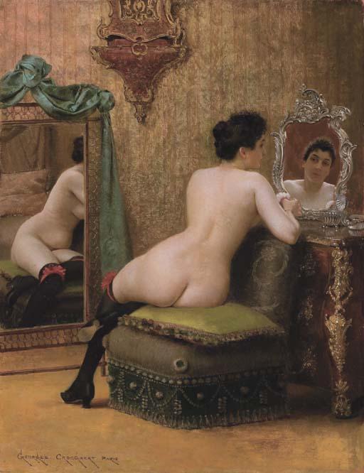 Georges_Croegaert_-_Femme_au_Boudoir