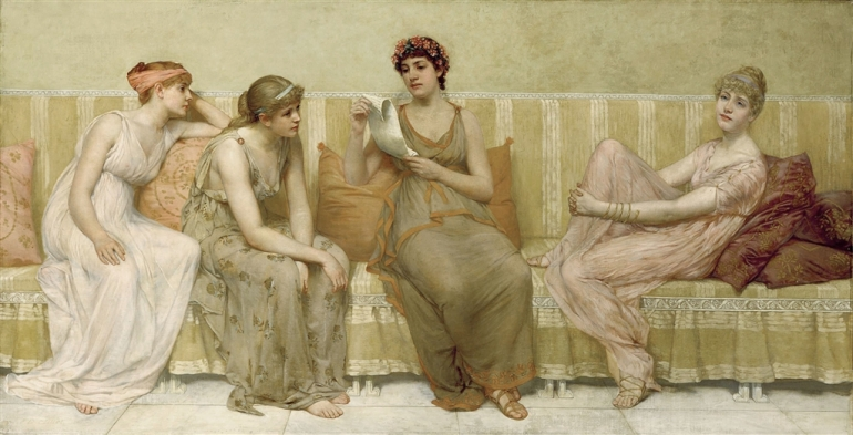 Millet_Fracis_David_Reading_the_Story_of_Oenone