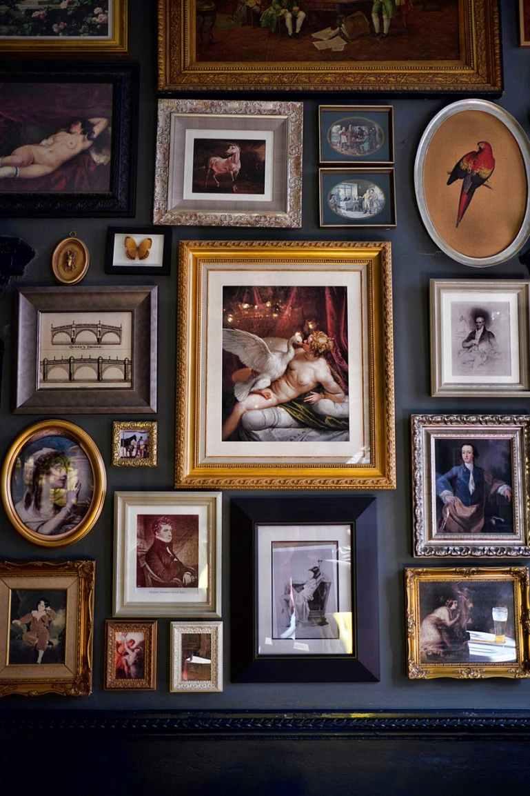 framed photo lot
