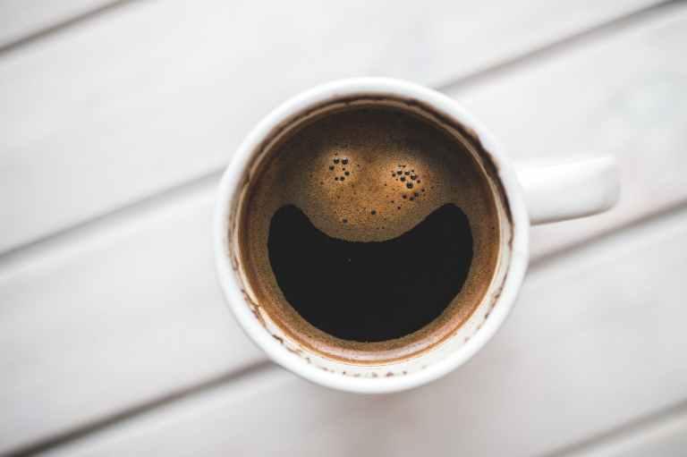 happy coffee