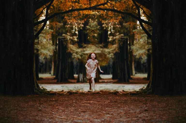 adorable adventure autumn colours barefoot