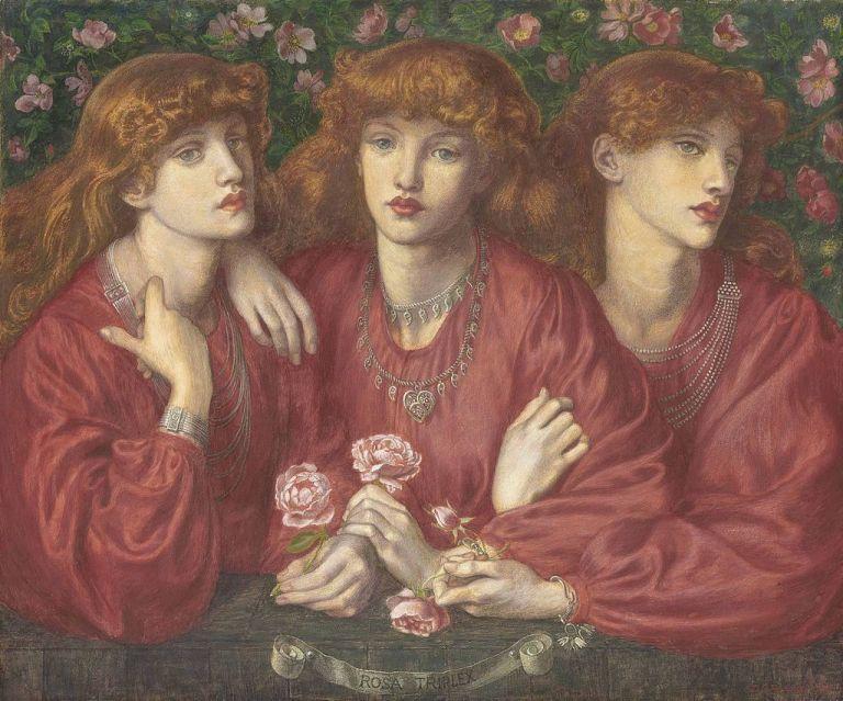 Dante_Gabriel_Rossetti_-_Rosa_Triplex_(1874)